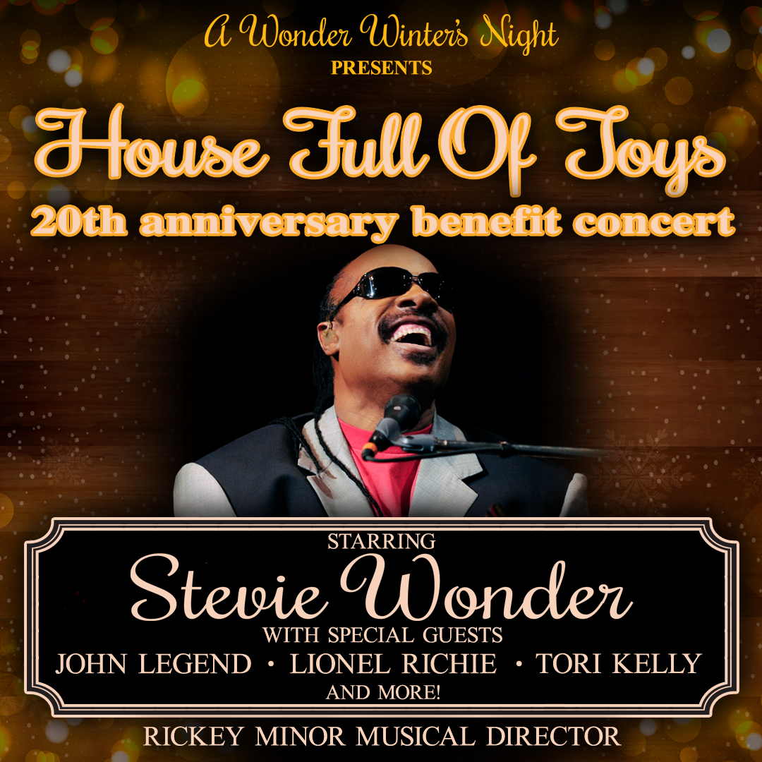 Stevie Wonder's House Full of Toys